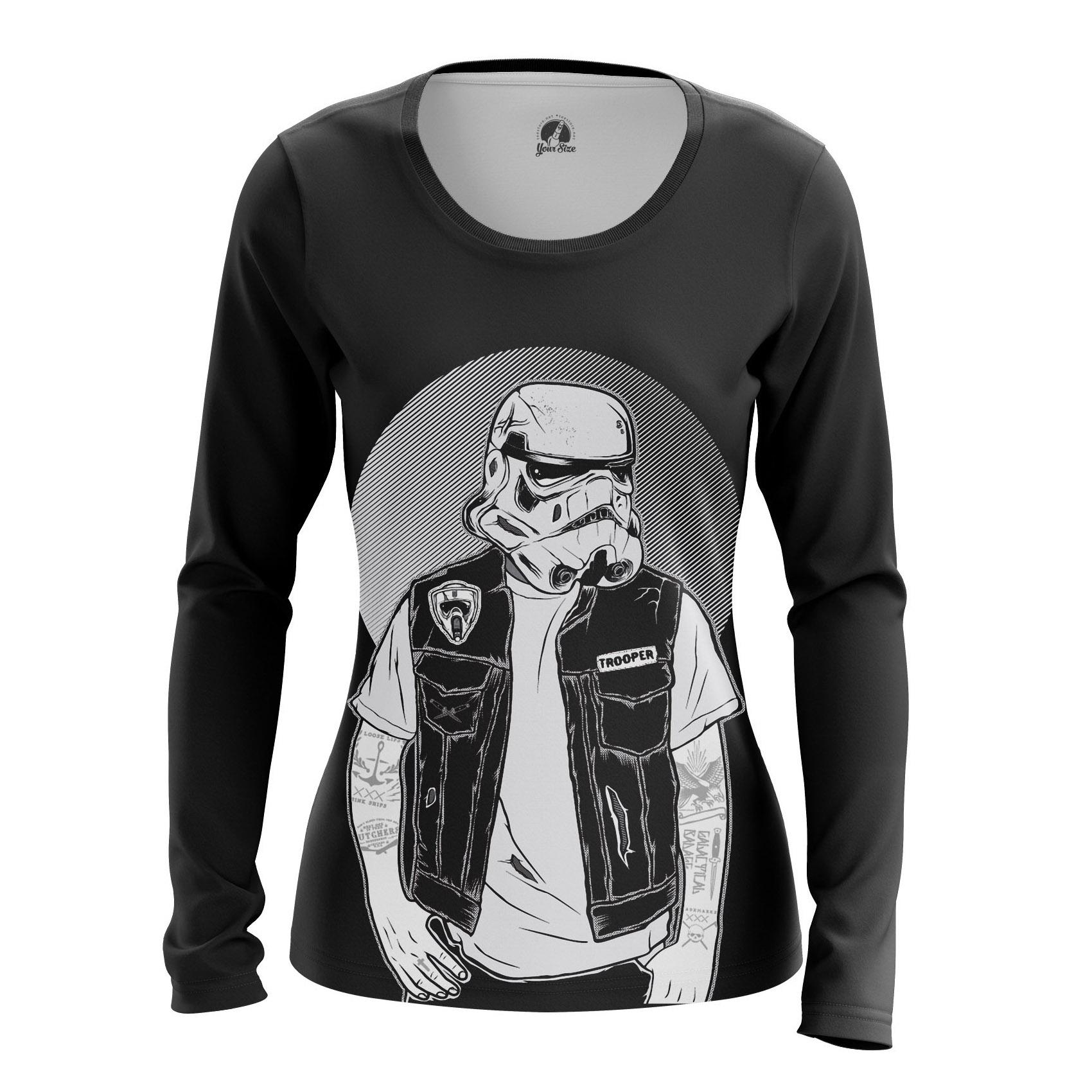 Merch Women'S Raglan Sons Of Empire Star Wars Stormtrooper