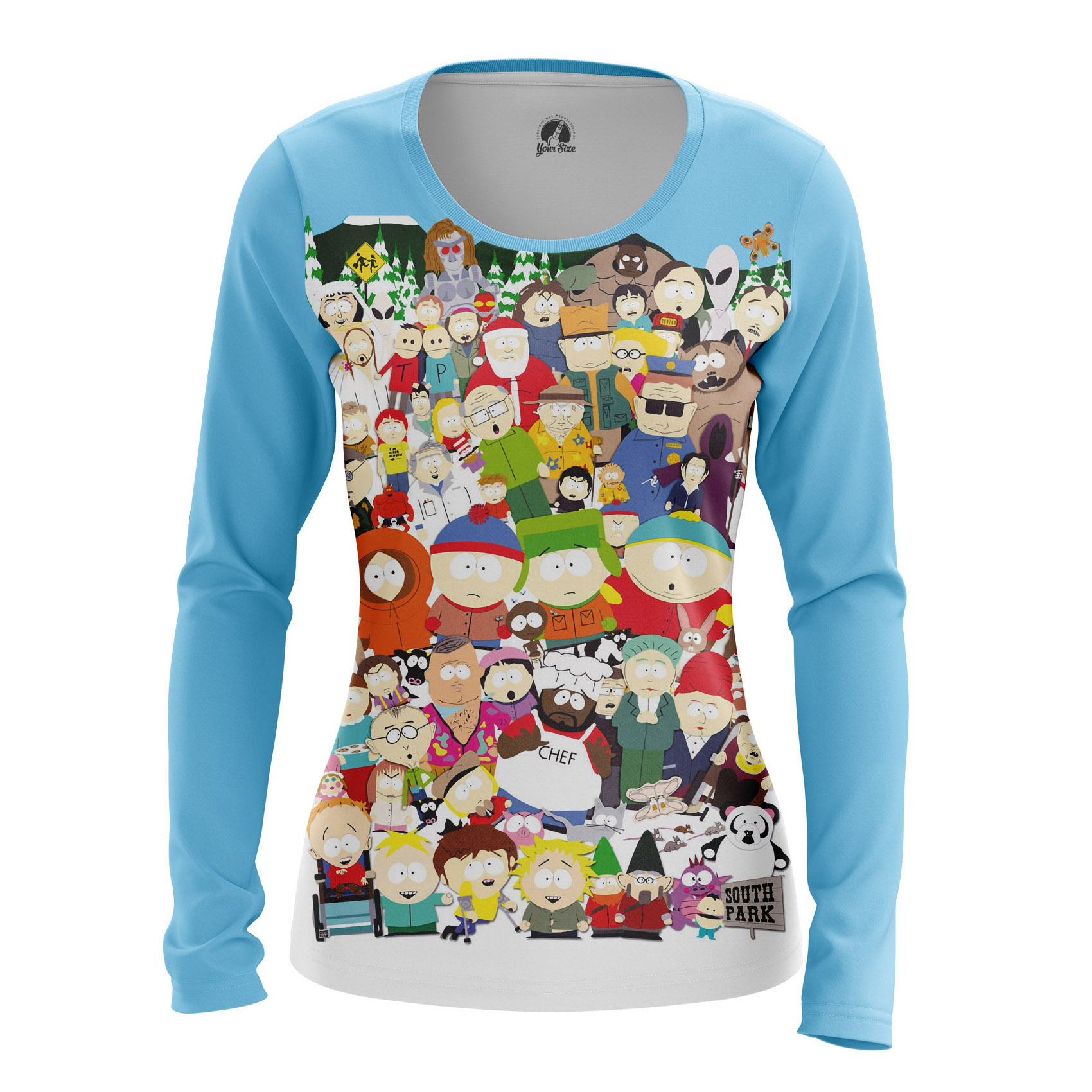 Collectibles Women'S Raglan South Park All Characters Kenny Stan
