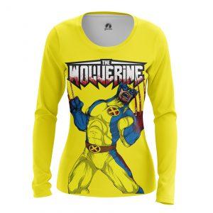 Merchandise Women'S Long Sleeve The Wolverine Xmen