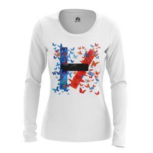 Merchandise Women'S Long Sleeve Twenty One Pilots Logo Shirts Clothes