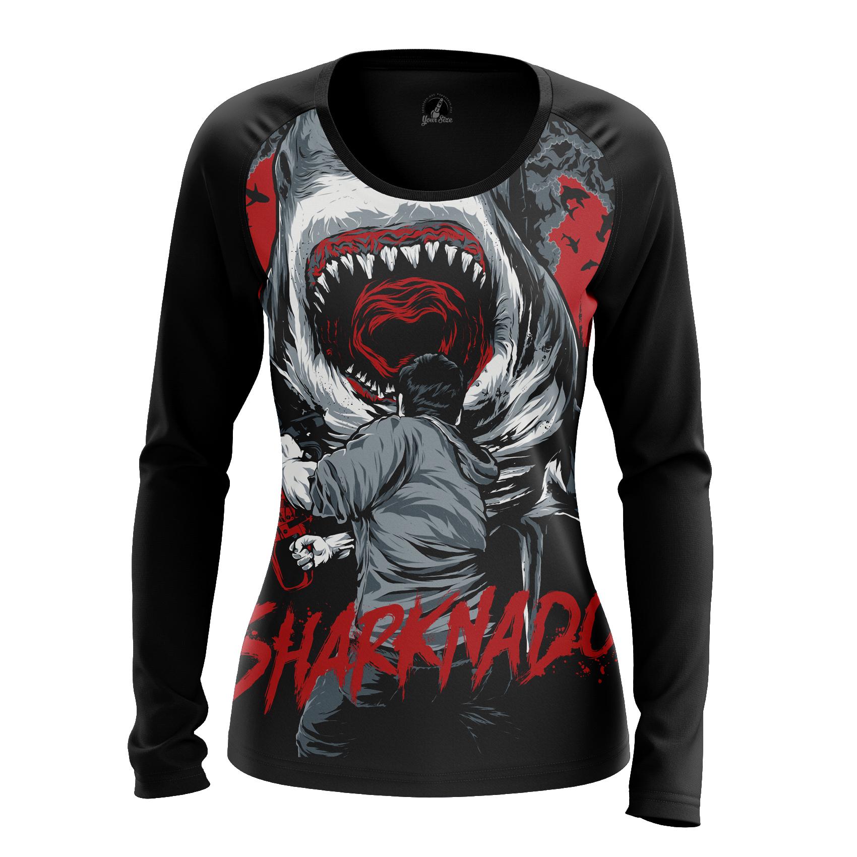 Collectibles Women'S Long Sleeve Sharknado Jaws