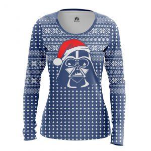 Merch Women'S Long Sleeve Darth Santa Christmas Star Wars