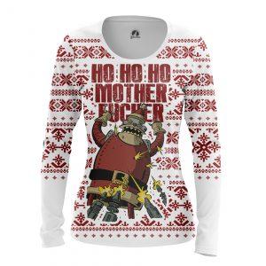 Merch Women'S Long Sleeve Futurama Santa Ho Ho Ho!