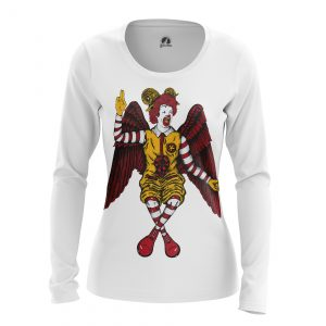 Collectibles Women'S Long Sleeve Holly Foods Ronald Mcdonald