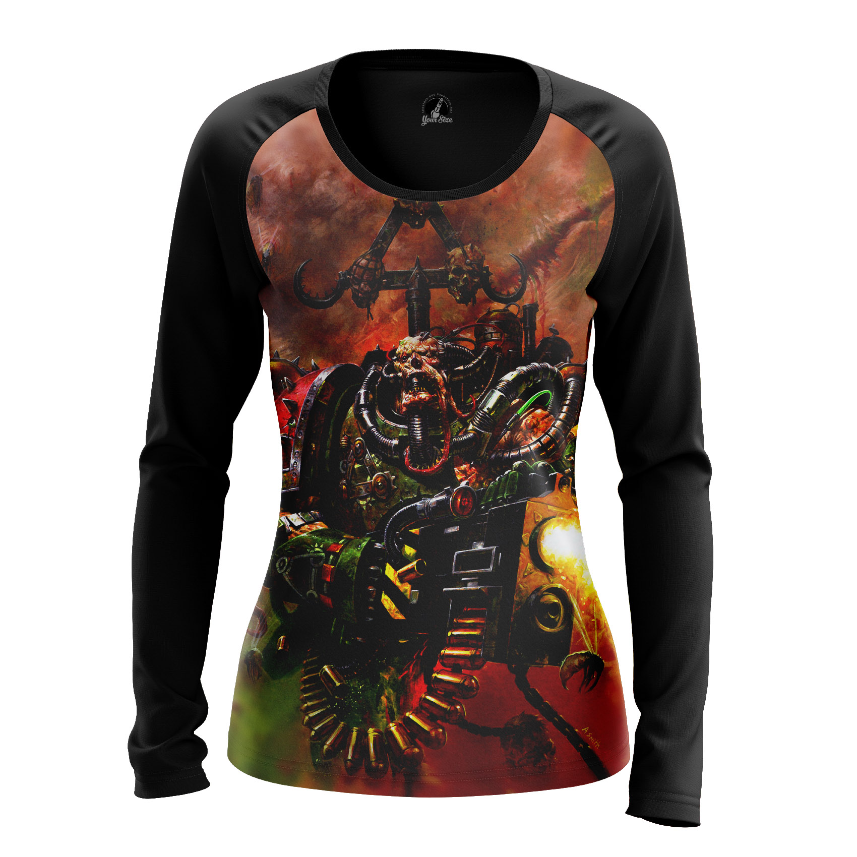 Collectibles Women'S Long Sleeve Nurgle Game Warhammer