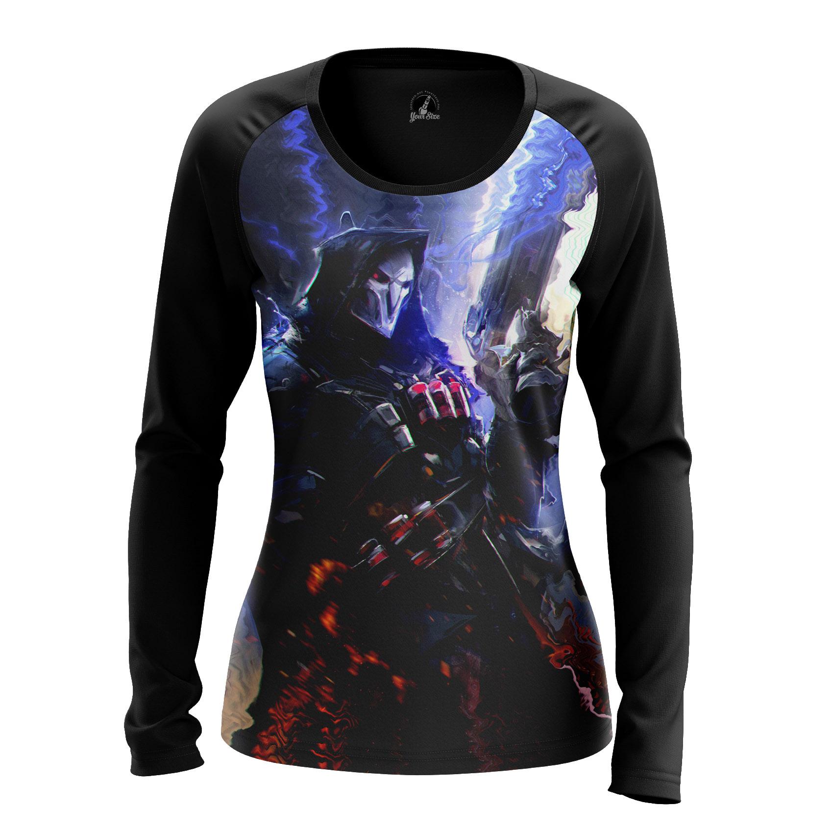 Merchandise Women'S Raglan Reaper Overwatch