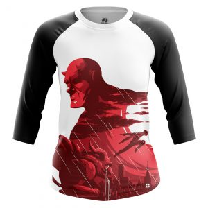 Collectibles Women'S Raglan Blind Justice Daredevil