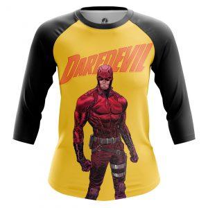 Collectibles Women'S Raglan Daredevil Yellow