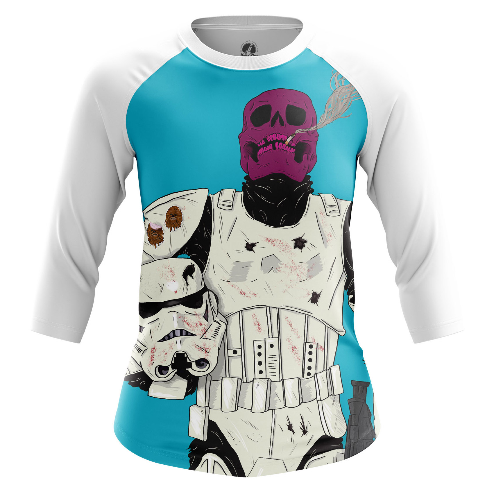 Merchandise Women'S Raglan Death Trooper Star Wars Clone Storm