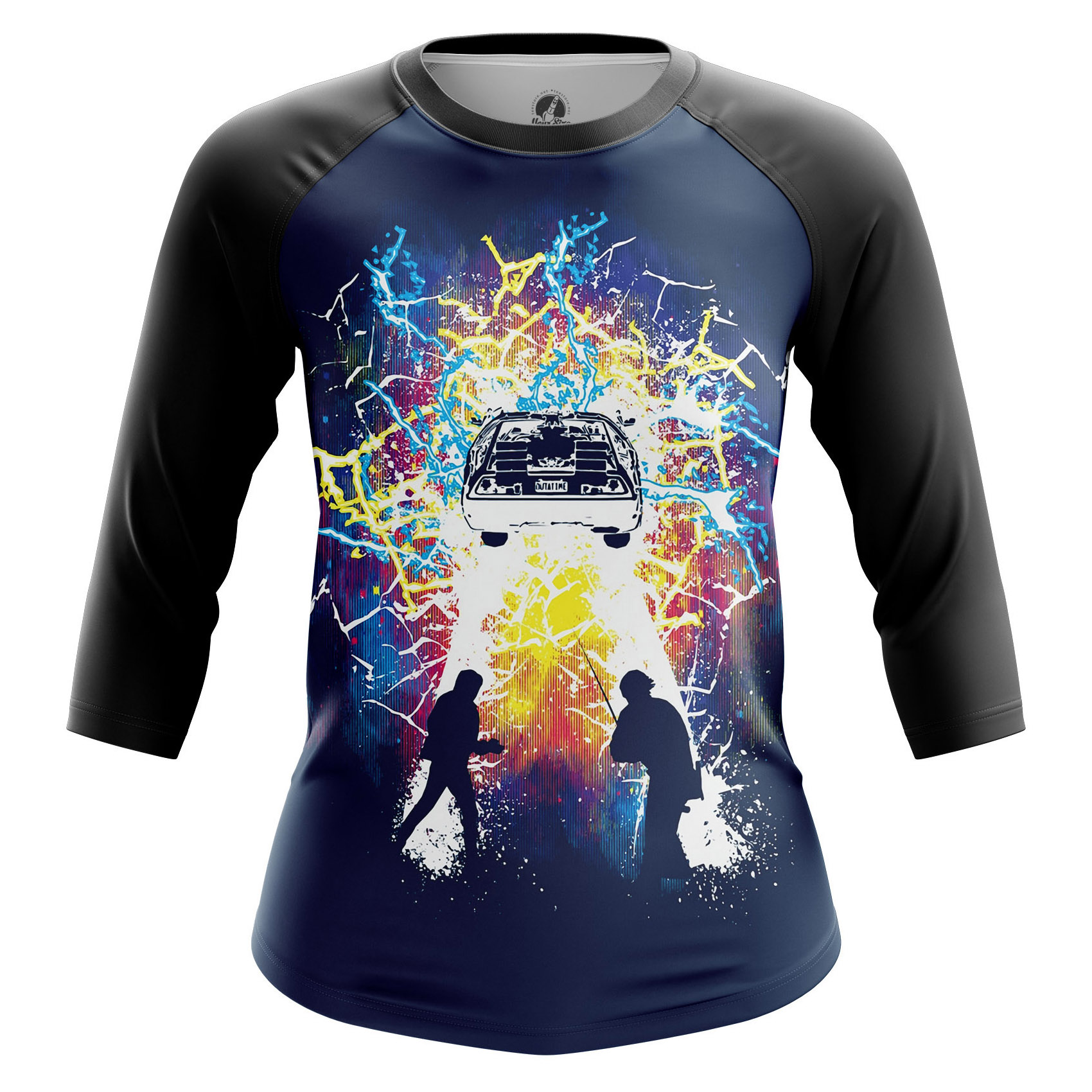 Merchandise Women'S Raglan Doc And Marty Back To Future