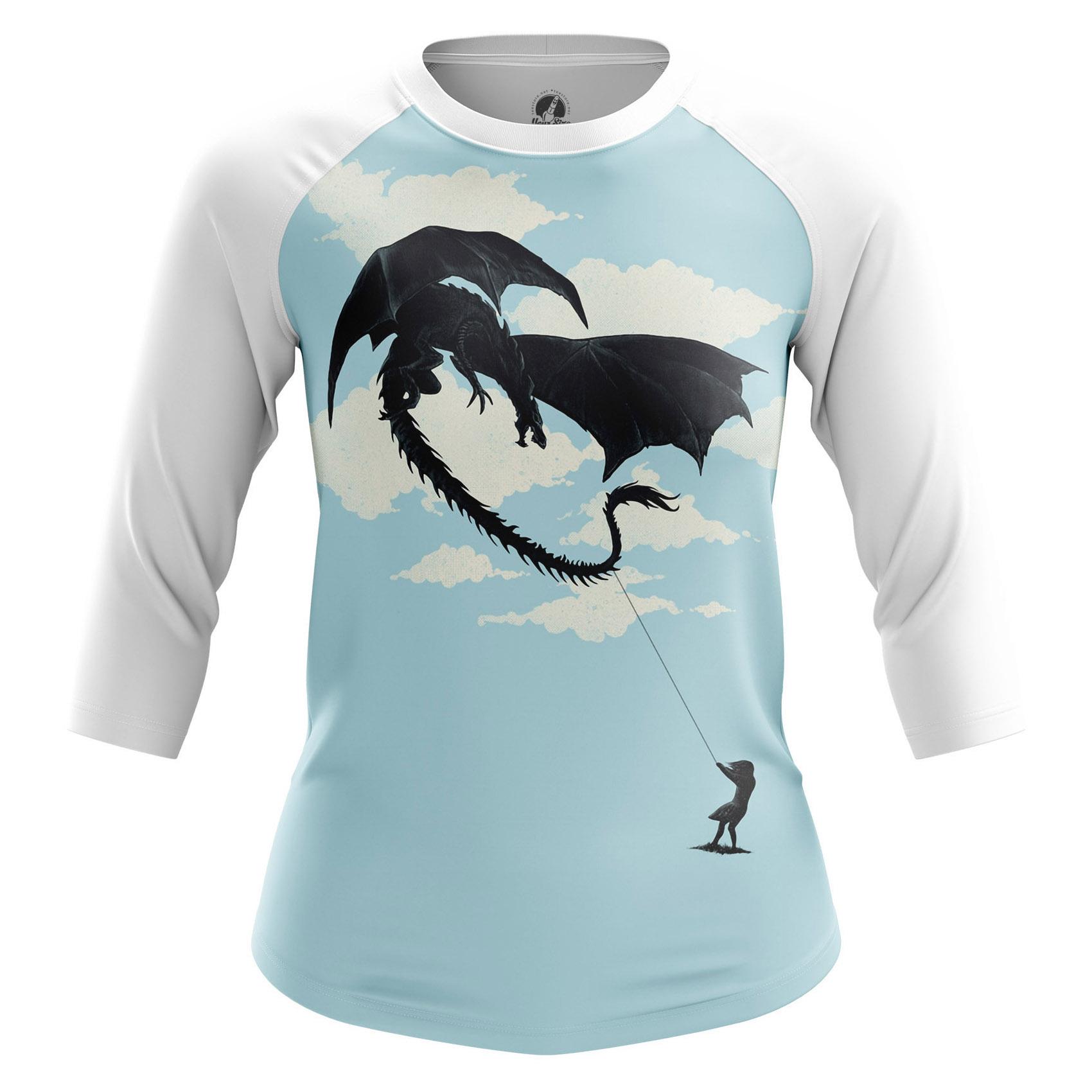 Merchandise Women'S Raglan Dragon Kitefantasy