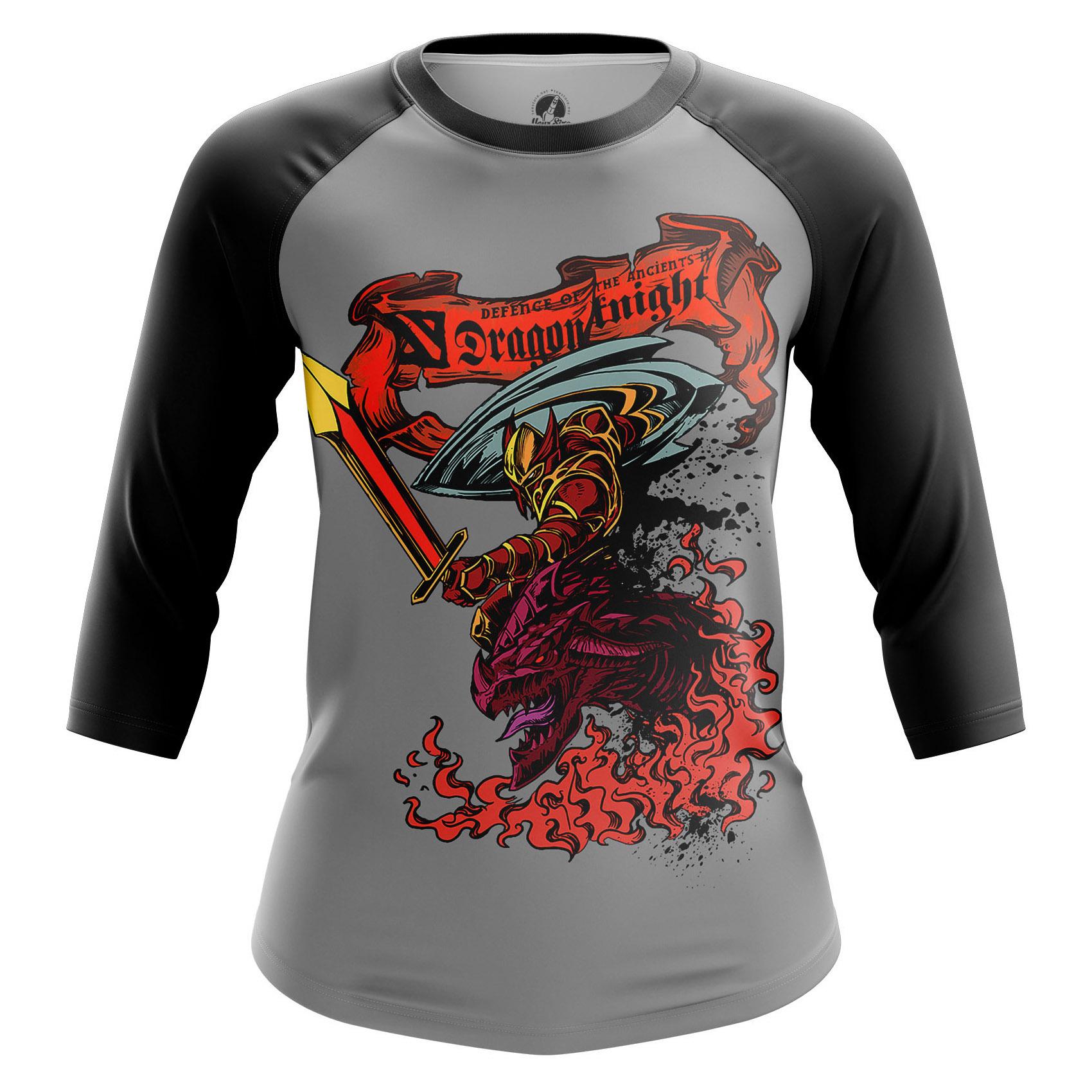 Collectibles Women'S Raglan Dragon Knight Dota 2 Dk