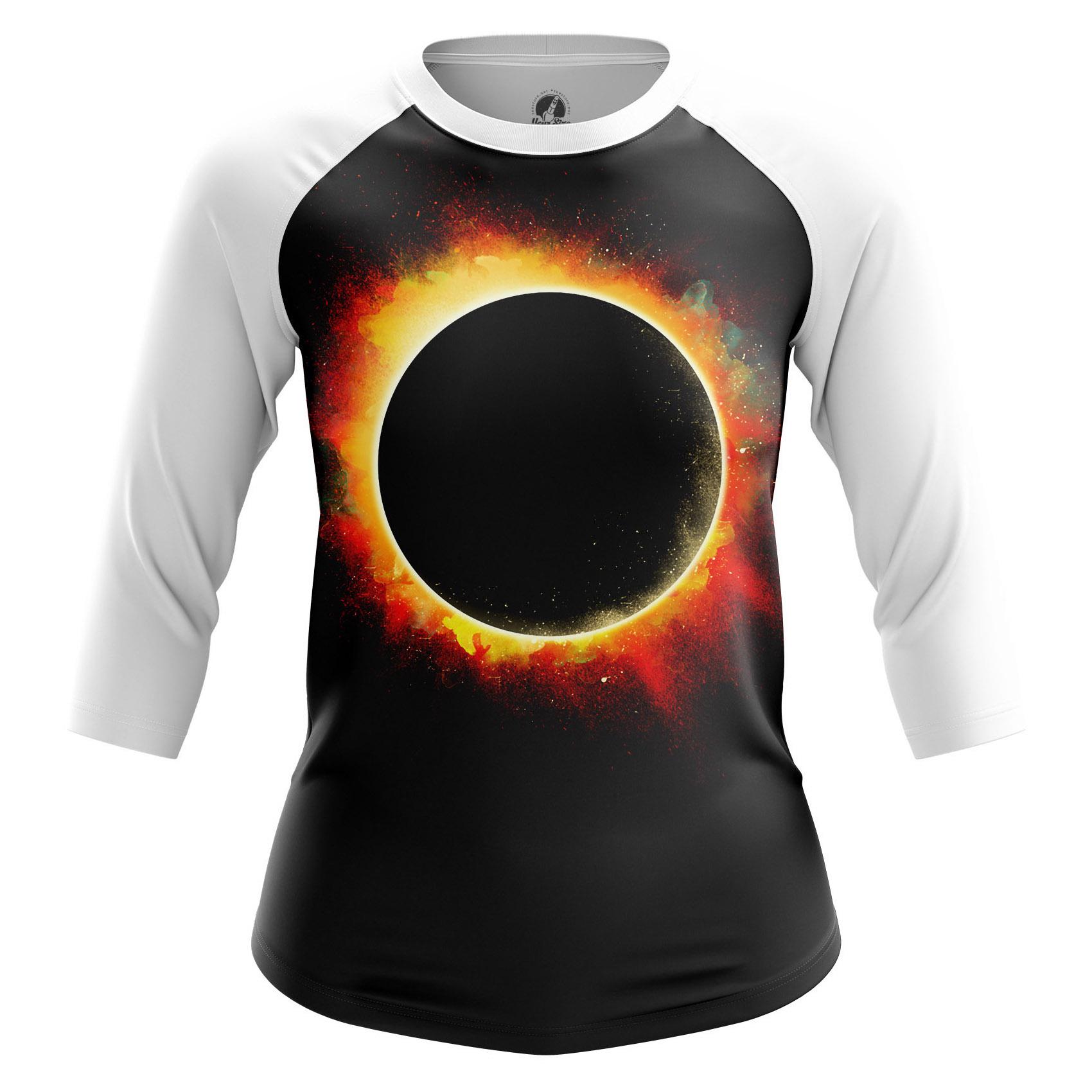 Collectibles Women'S Raglan Eclipse Sun Moon