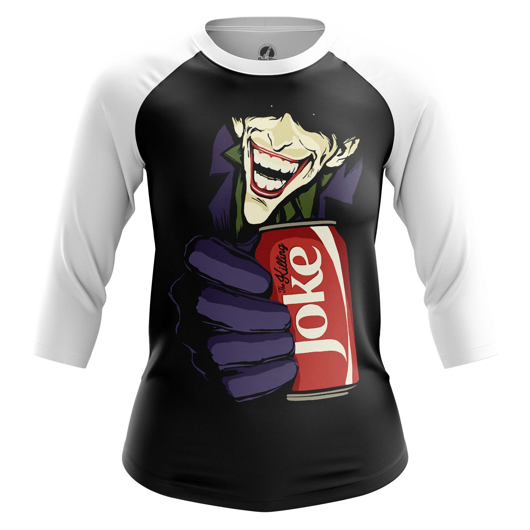 Merchandise Women'S Long Sleeve Killing Joke Joker Dc Comics Pop Art