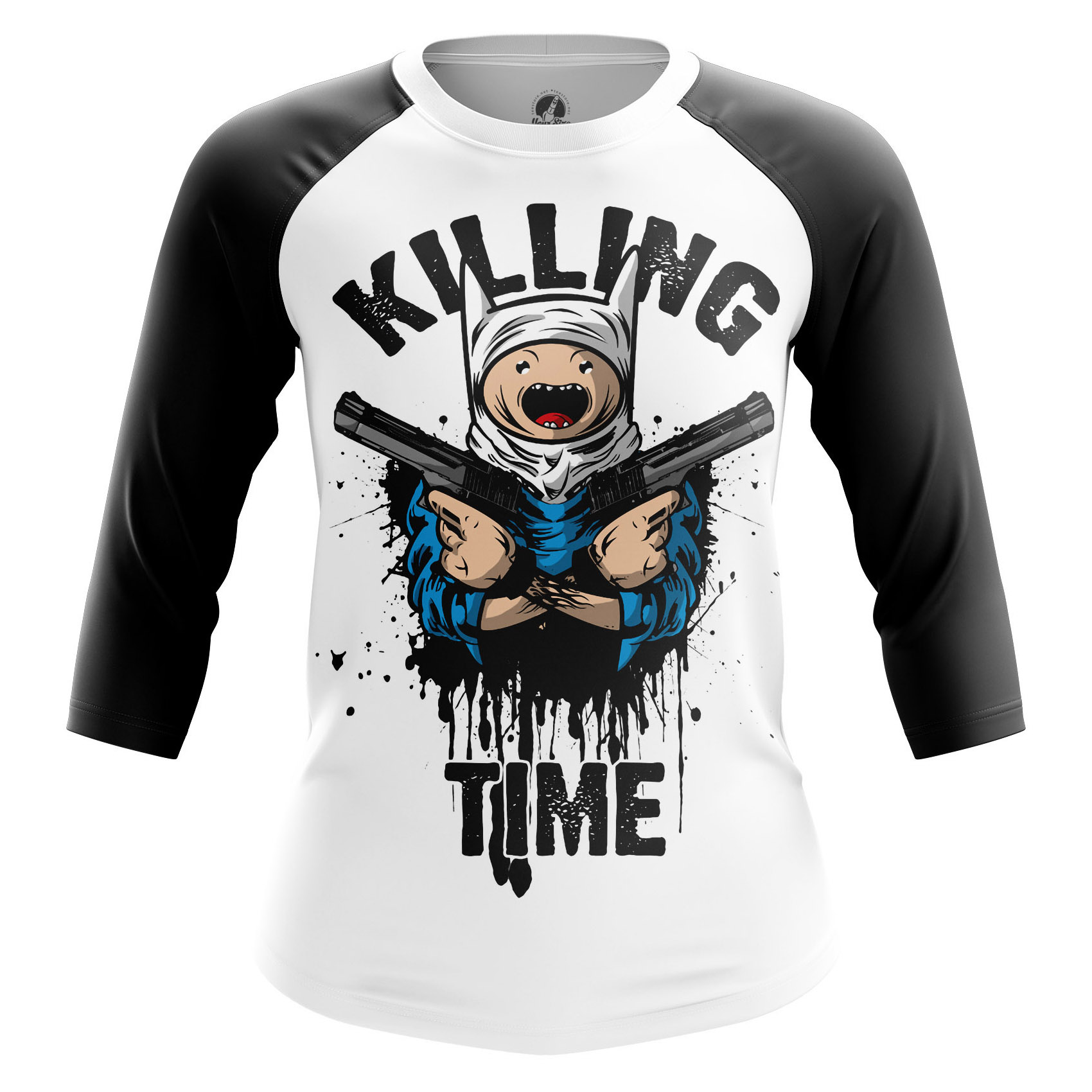 Merchandise Women'S Long Sleeve Killing Time Adventure Time Killing