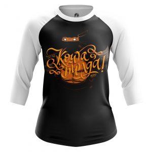 Merchandise Women'S Raglan Kowabunga Tmnt Kowabunga