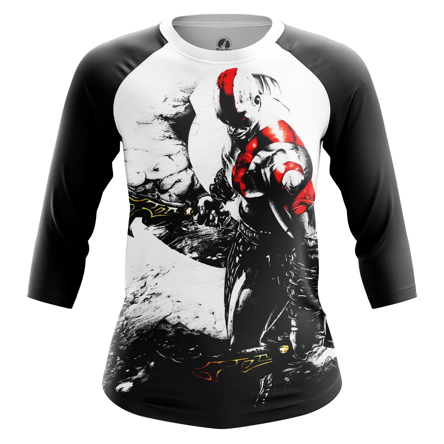 Collectibles Women'S Long Sleeve Kratos Games God Of War