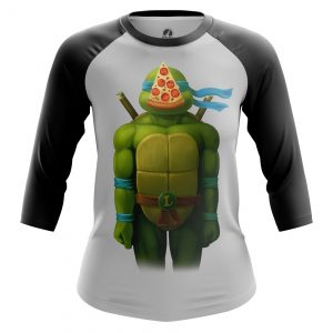 Merchandise Women'S Raglan Leo Tmnt Ninja Turtles Pizza