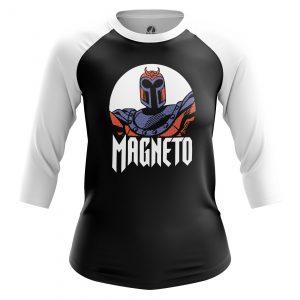 Collectibles Women'S Raglan Magneto Xmen Black