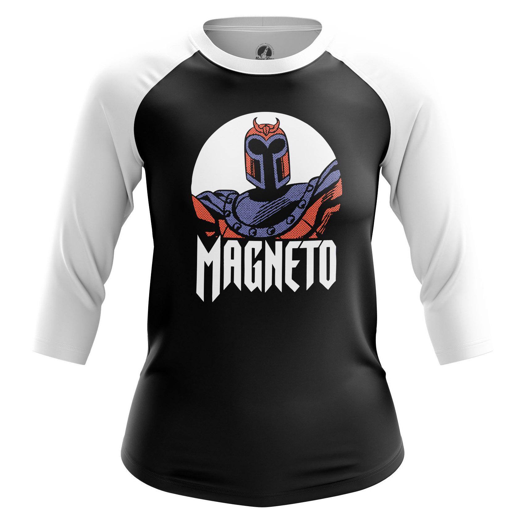 Collectibles Women'S Long Sleeve Magneto Xmen Black
