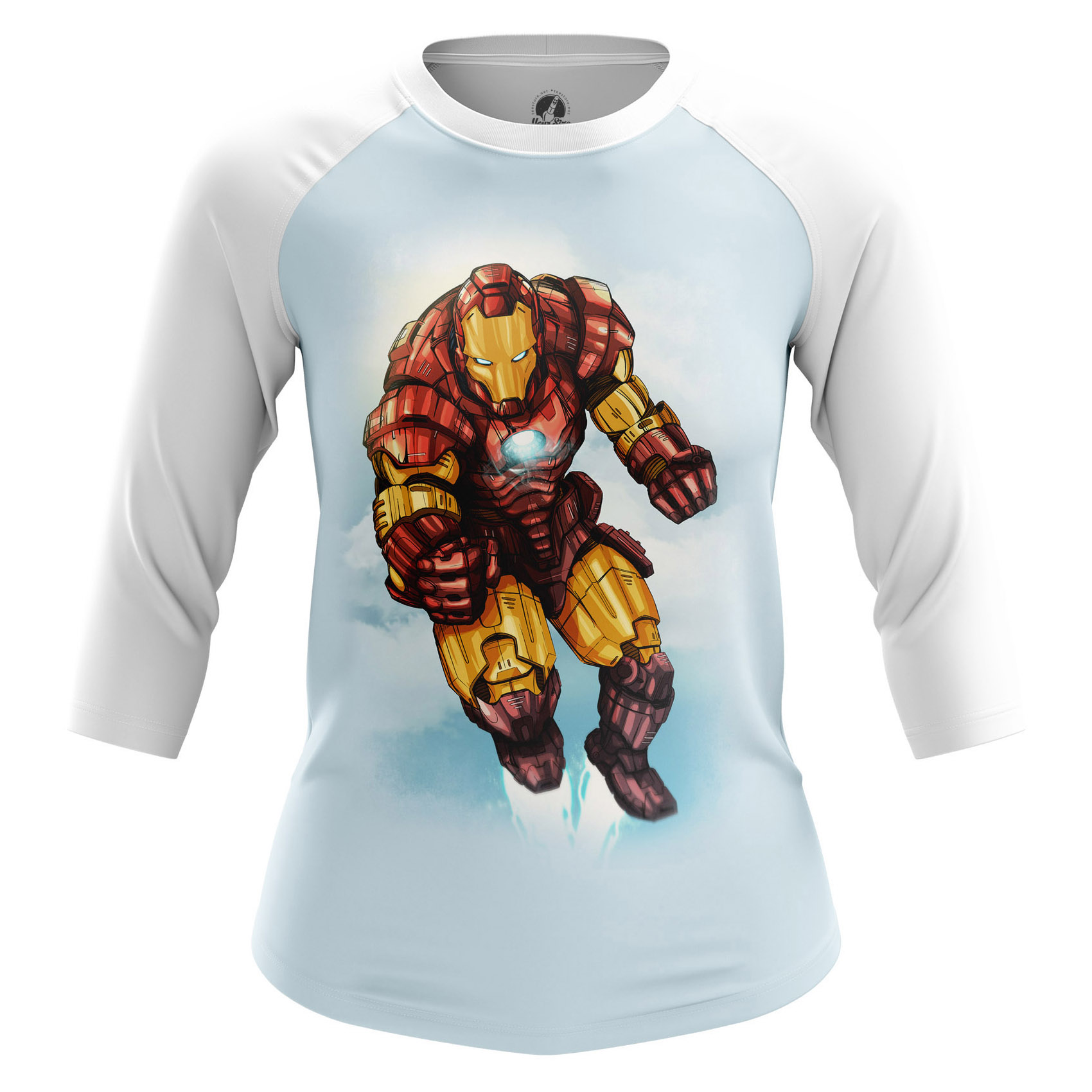 Collectibles Women'S Long Sleeve Man Of Iron Tony Stark Iron Man