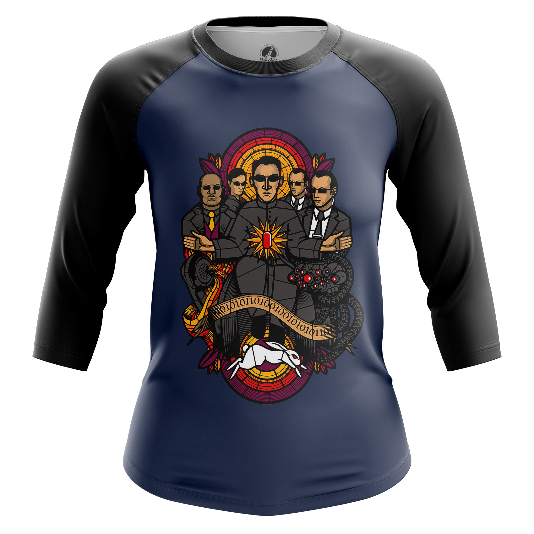 Merchandise Women'S Long Sleeve Matrix Saints Agent Smith