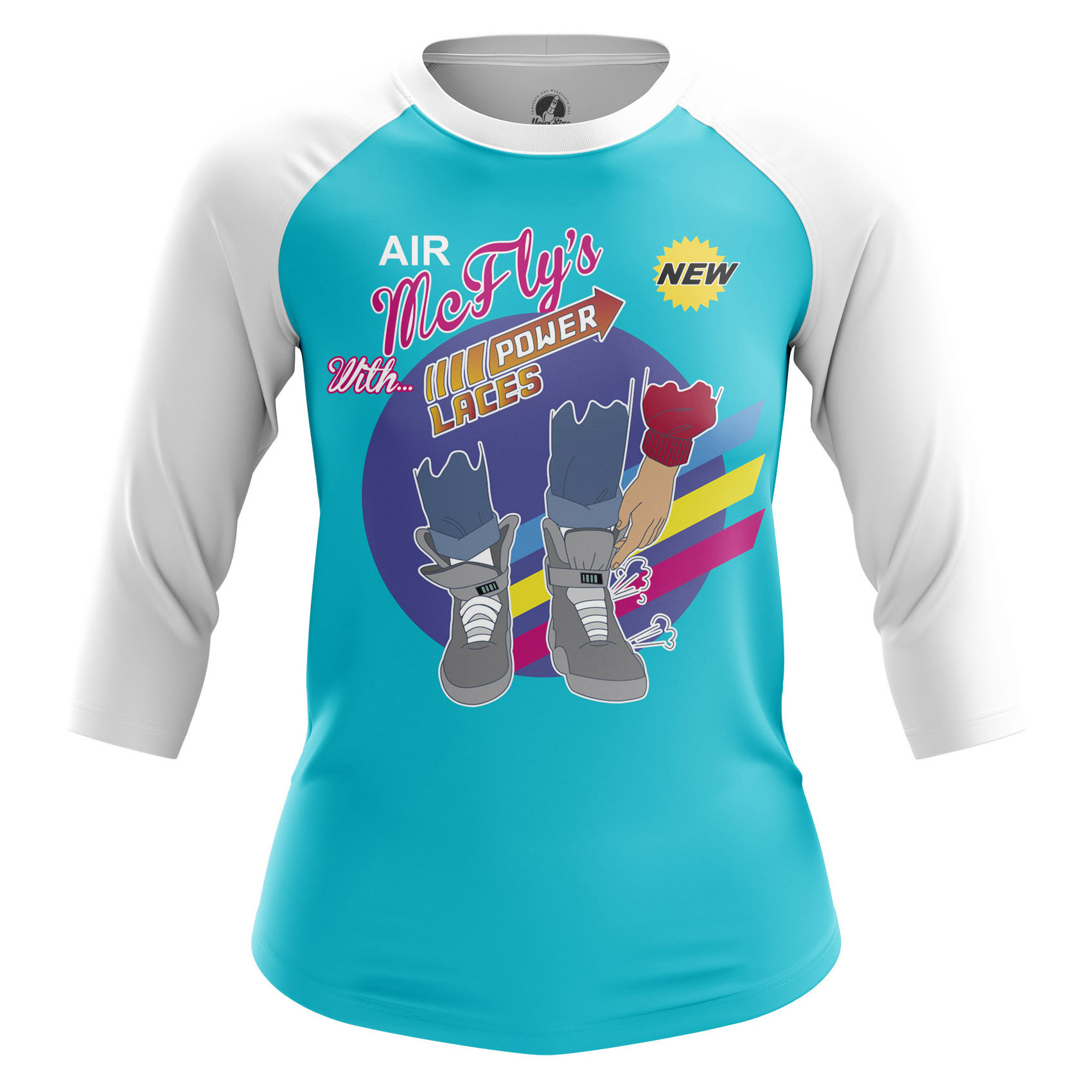 Merchandise Women'S Long Sleeve Mcfly'S Power Laces Back To Future