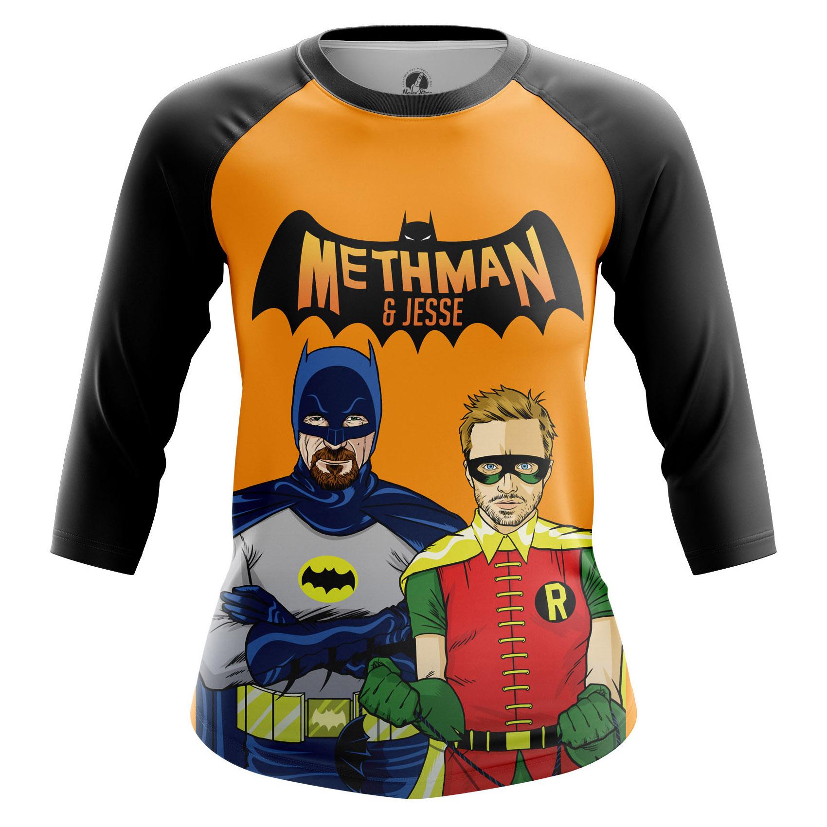Collectibles Women'S Long Sleeve Methman And Jessey Breaking Bad Batman