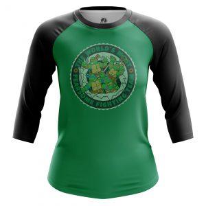 Merchandise Women'S Raglan Most Fearsome Tmnt Ninja Turtles