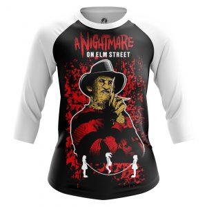 Merchandise Women'S Raglan Nightmare On Elm Street