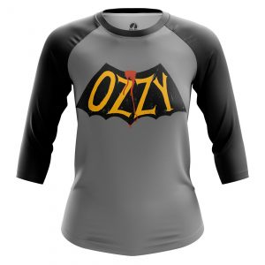 Merch Women'S Raglan Ozzy Ozzy Osbourne
