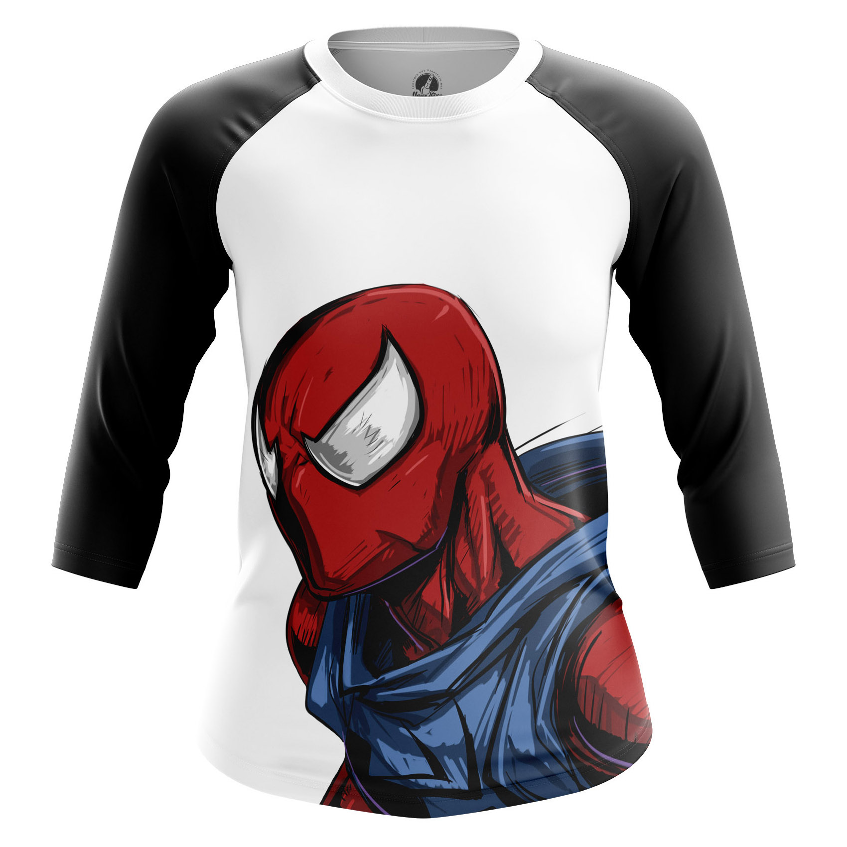 Merch Women'S Raglan Scarlet Spider Spider-Man Costume