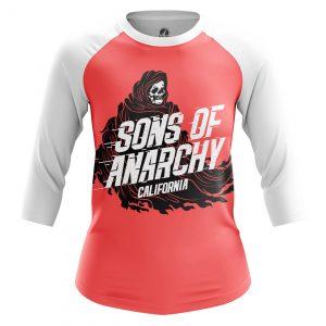 Merch Women'S Raglan Sons Of Anarchy Tv