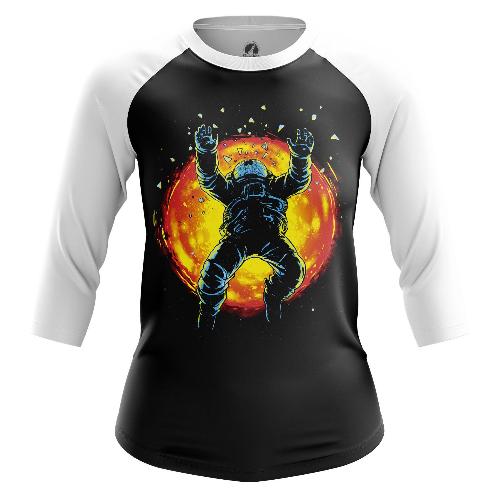 Merchandise Women'S Raglan Space Burst Astronaut