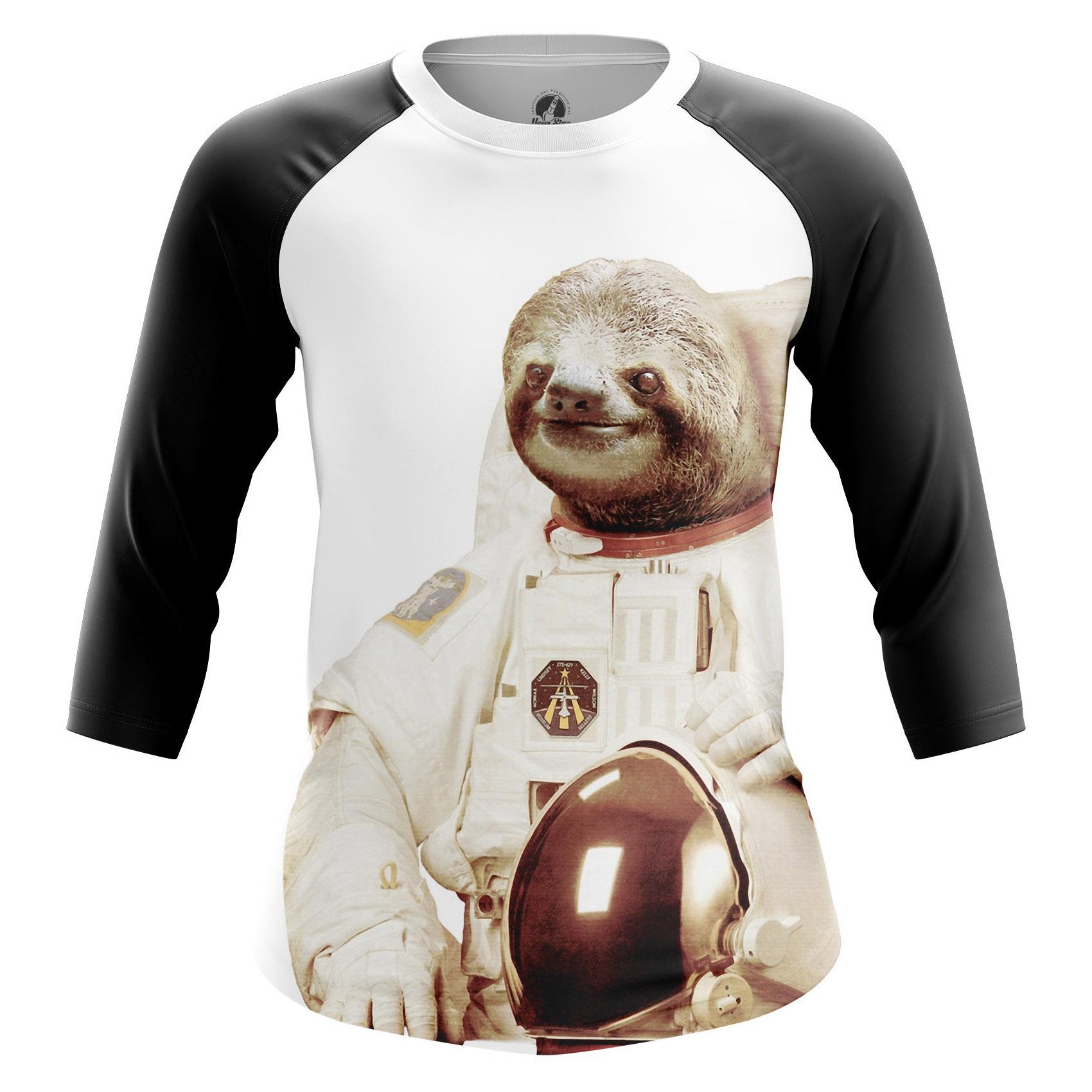 Collectibles Women'S Raglan Space Sloth
