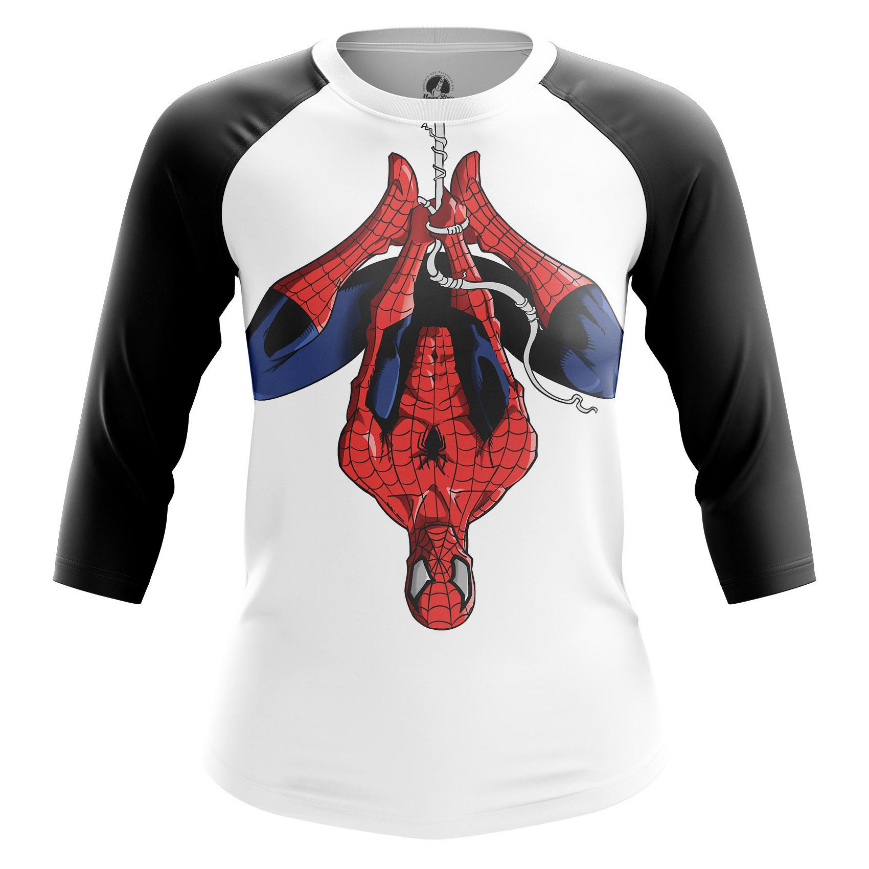 Merchandise Women'S Raglan Spiderman Spider-Man