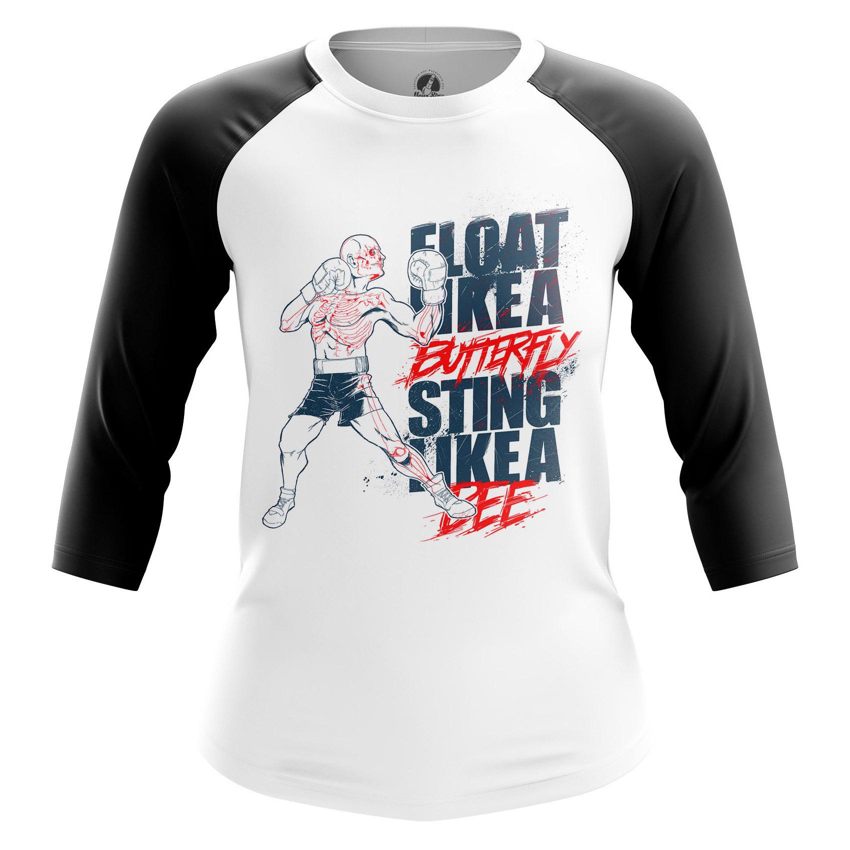 Merchandise Women'S Raglan Sting Like A Bee Boxing Phrase