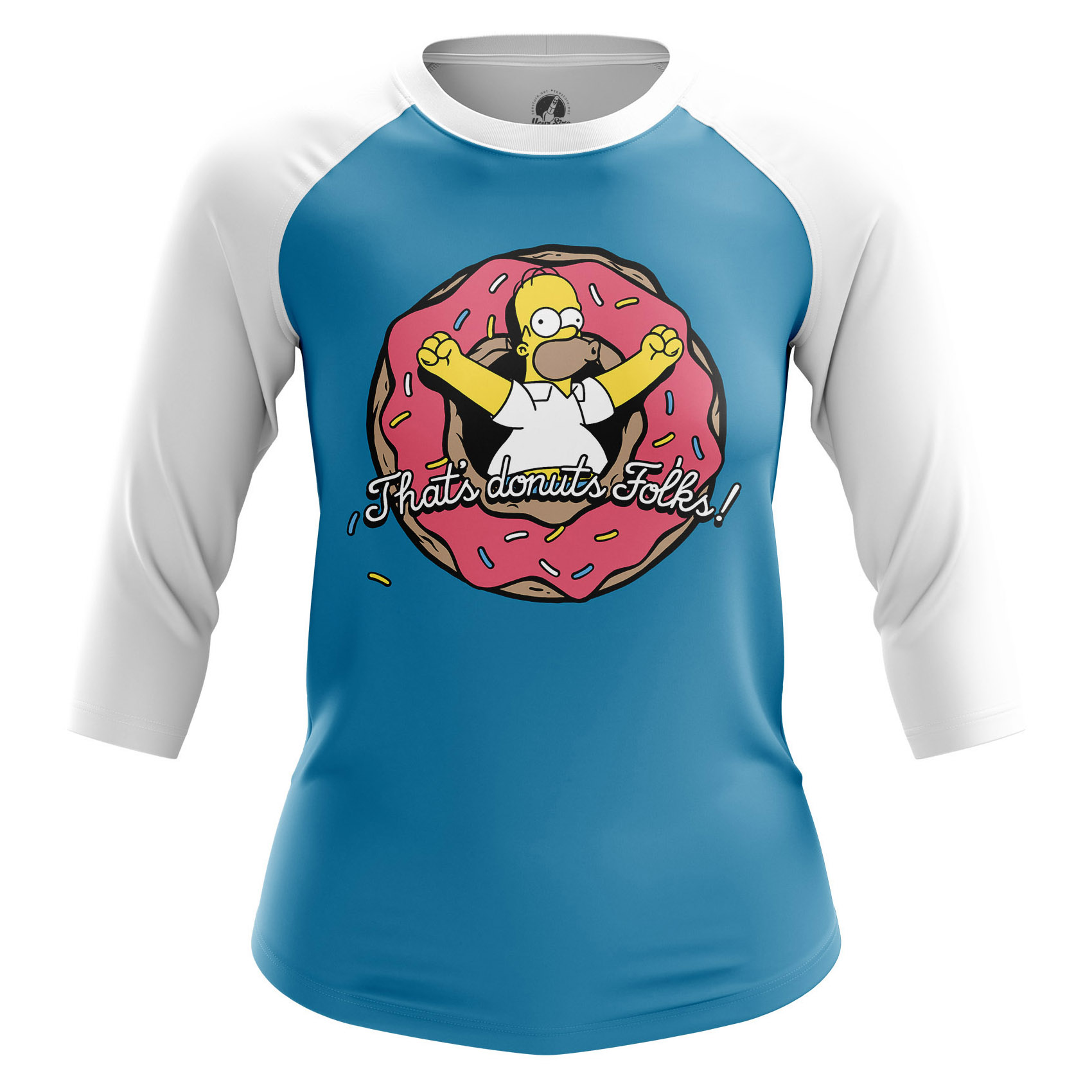 Collectibles Women'S Raglan Thats Donuts Simpsons Thats Donuts
