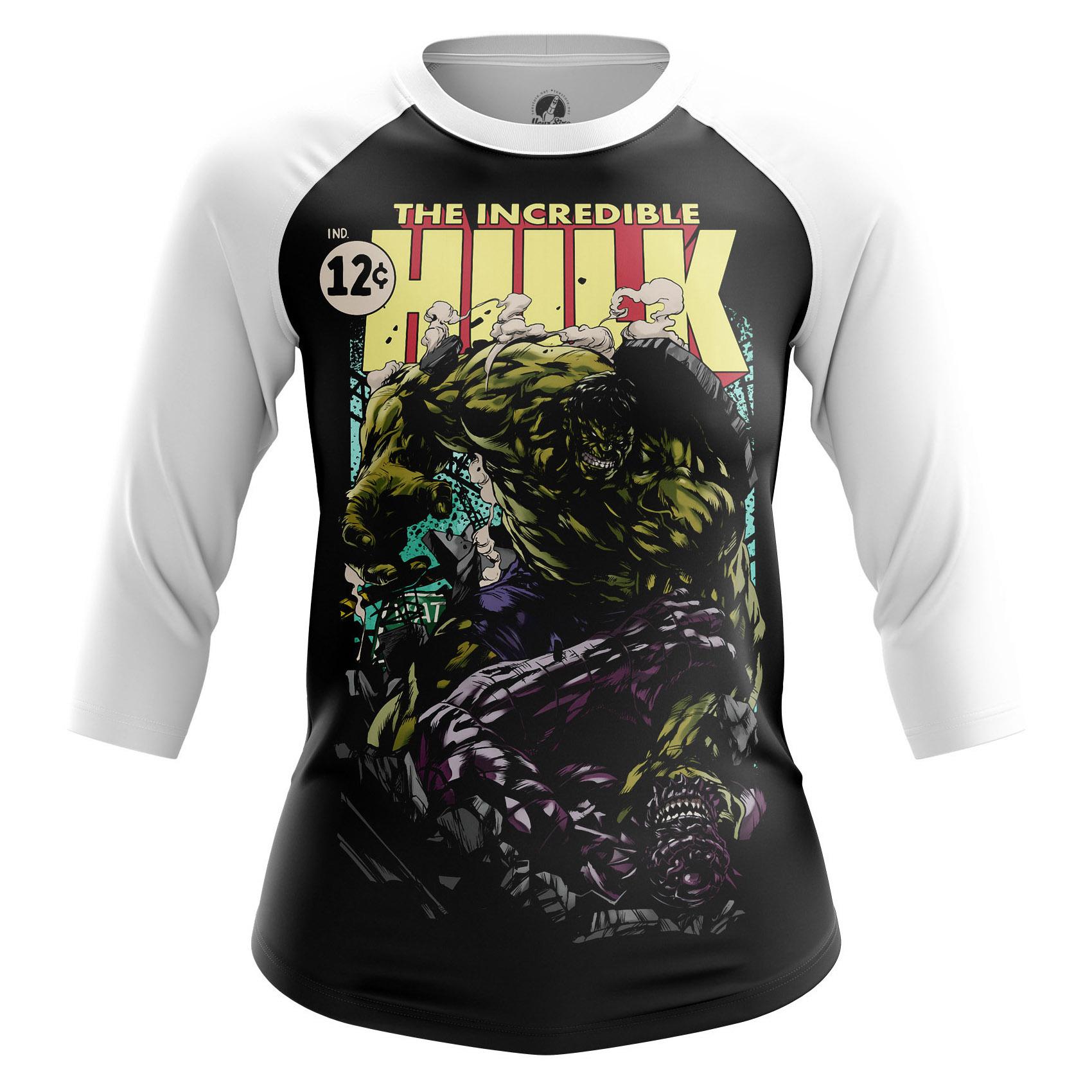 Merch Women'S Raglan Incredible Hulk
