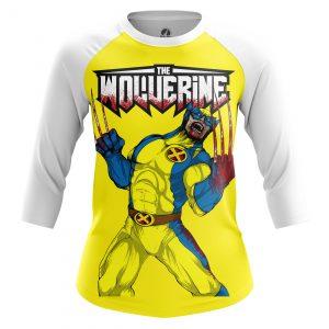 Merchandise Women'S Raglan Wolverine Xmen
