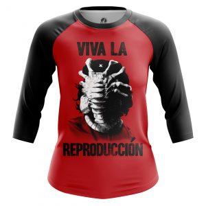 Collectibles Women'S Raglan Viva La Reproduction Che Guevara Alien