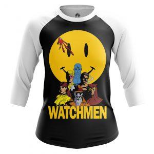 Collectibles Women'S Raglan Watchmen Noir Classic Version