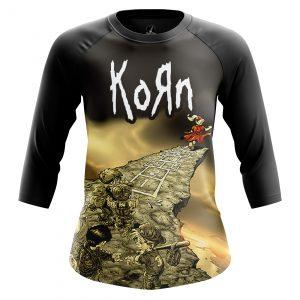 Merch Women'S Raglan Follow Leader Korn Merch