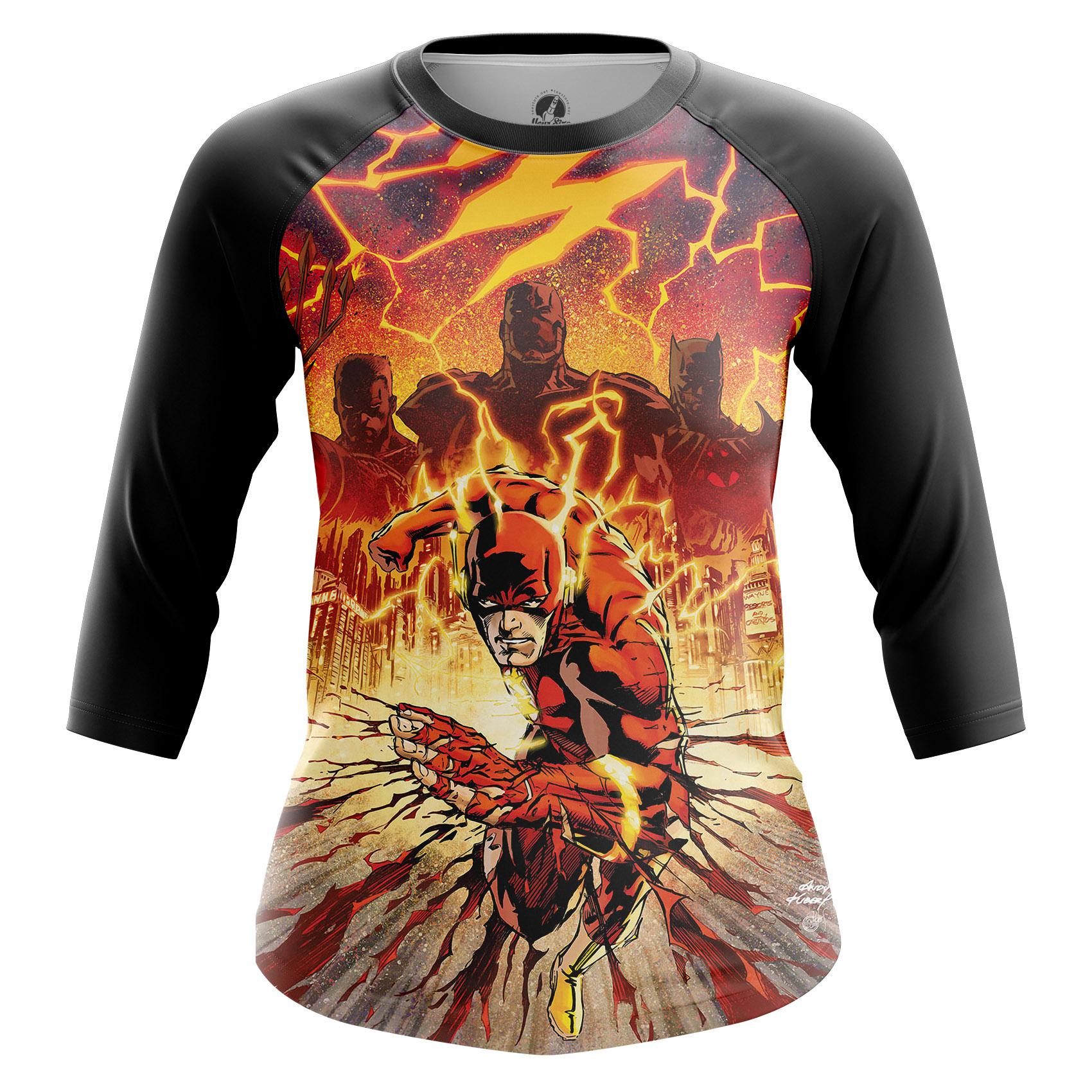 Merchandise Women'S Raglan Flashpoint Flash Dc