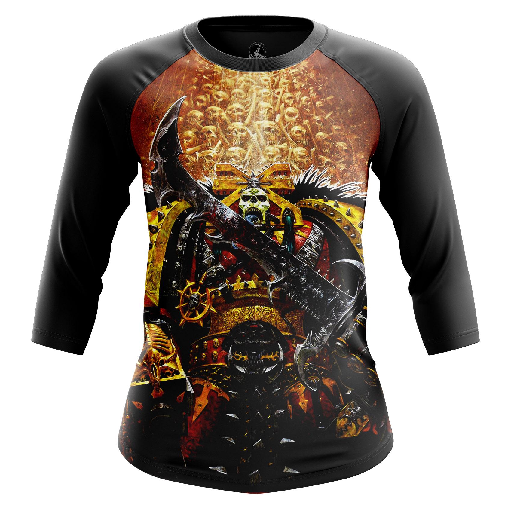 Collectibles Women'S Long Sleeve Khorne Warhammer God