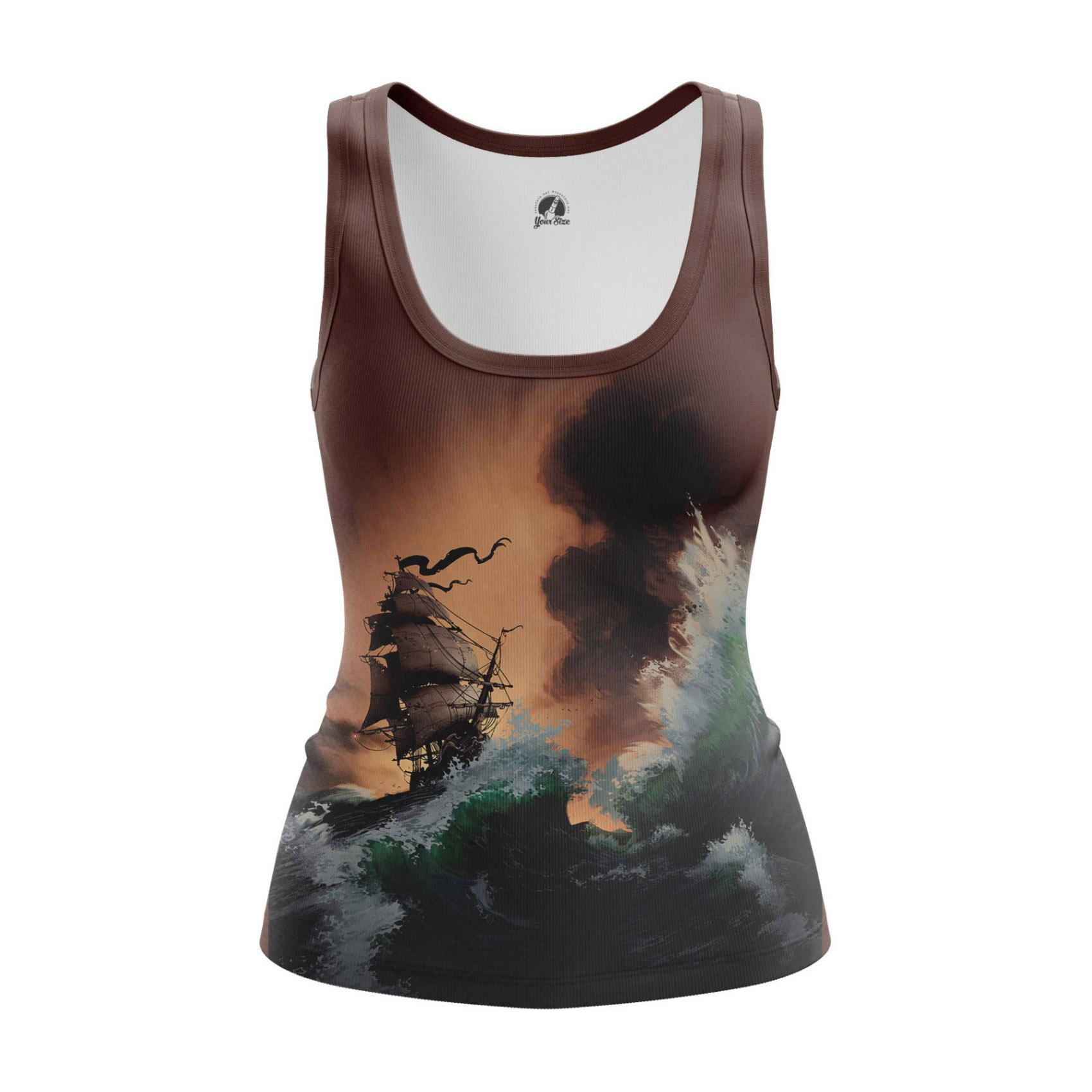 Collectibles Women'S Tank Abandon Ship Sailor Vest