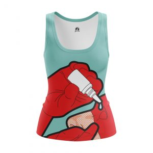 Collectibles Women'S Tank Blind Devil Daredevil Marvel Comics Pop Art Vest