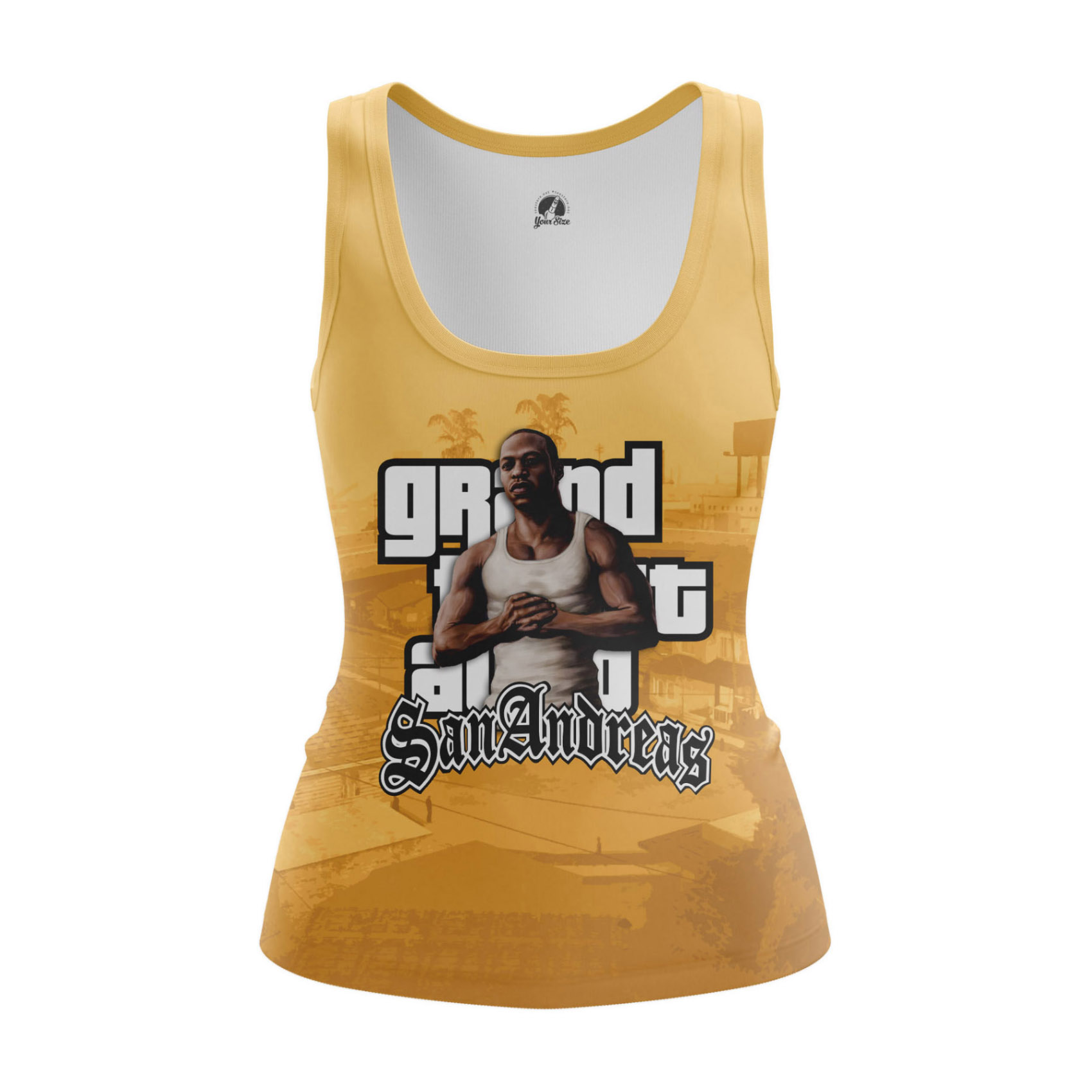 Merch Women'S T-Shirt Cj Gta San Andreas