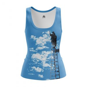 Merch Women'S Tank Clouds Art Artist Vest