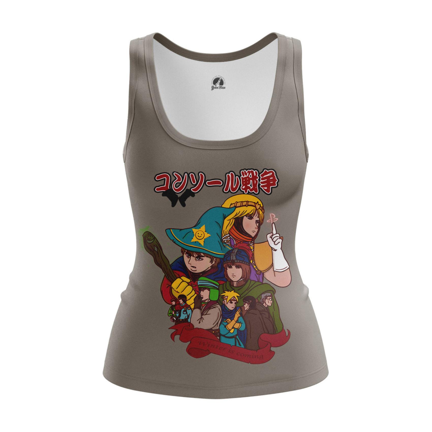 Merchandise - Women'S Tank Console Wars South Park Ps4 Game Vest